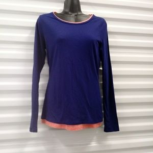 Boden Long Sleeve Tee Shirt Top Tunic Size 4